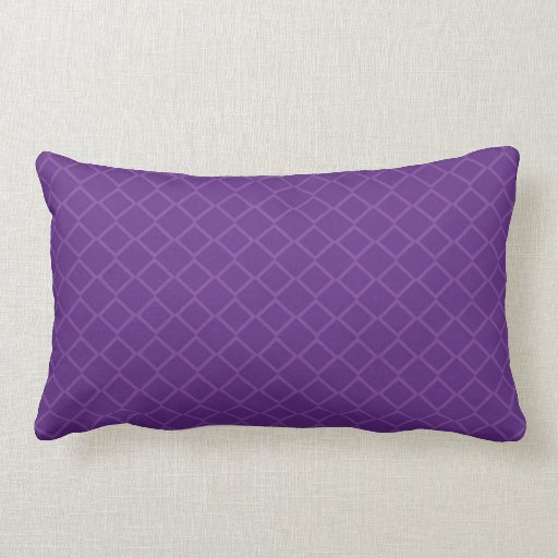 Square Throw Pillow Pattern : Purple Geometric Square Crosshatch Design Pattern Throw Pillow Zazzle