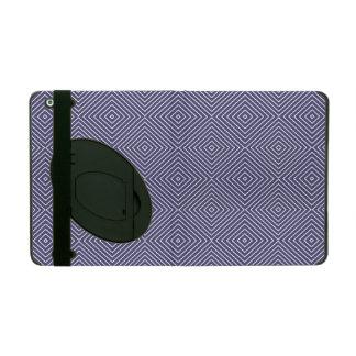 Purple Geometric Squares iPad Cases