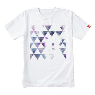 Purple Geometric Triangle Art Zazzle HEART T-Shirt