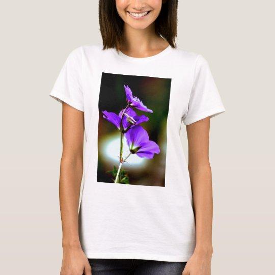 Purple Geranium T-Shirt