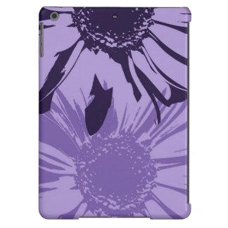 Purple Gerbera Flowers iPad Air Covers