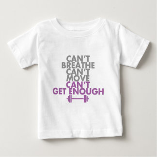 "Purple ""Get Enough"" Baby T-Shirt"