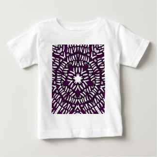 Purple Ghost Mosaic Burst Baby T-Shirt