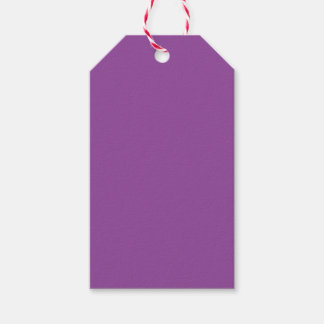 Purple Pack Of Gift Tags