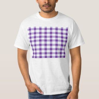 Purple Gingham Shirt