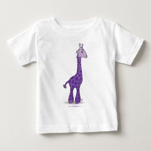 Purple giraffe baby T-Shirt