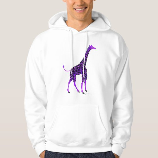 Purple Giraffe Hoodie