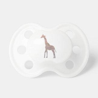 Purple Giraffe Pacifier