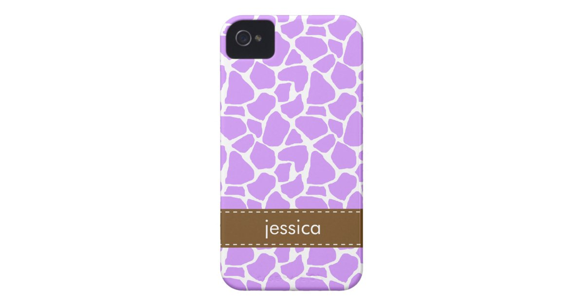 sell my iphone purple giraffe pattern iphone 4 mate cases zazzle 1171
