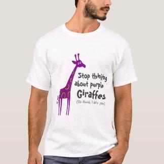 Purple Giraffes T-Shirt