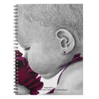 Purple Girl 1 Notebook