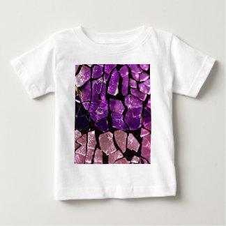 Purple glass fragments baby T-Shirt