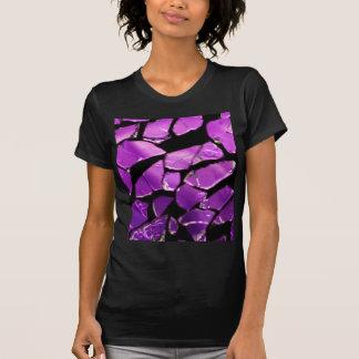 Purple glass fragments T-Shirt