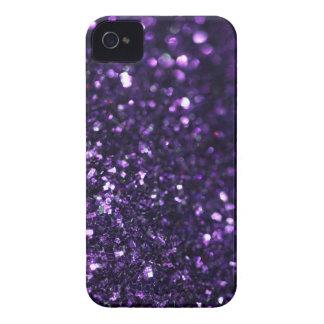 Purple Glimmer iPhone 4 Case