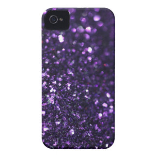 Purple Glimmer iPhone 4 Case