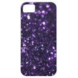 Purple Glimmer iPhone 5 Case