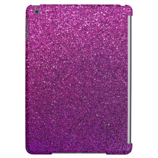 Purple Glitter Background Glittery Sparkle Cover For iPad Air