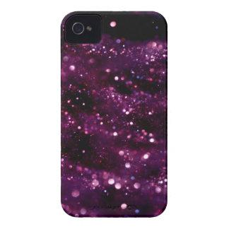 PURPLE GLITTER BOTEK SPACE FANTASY SCIENCEFICTION Case-Mate iPhone 4 CASES