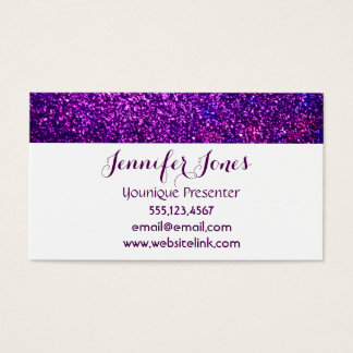 glitter business cards templates zazzle. Black Bedroom Furniture Sets. Home Design Ideas