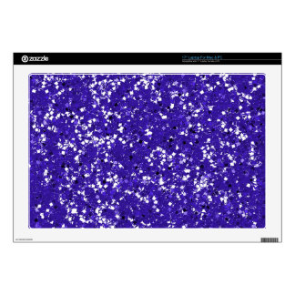 Purple Glitter Customized It Youself Skins For Laptops
