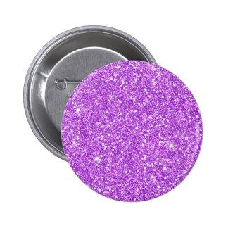 Purple Glitter Diamond Luxury Shine Button
