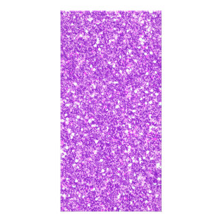 Purple Glitter Diamond Luxury Shine Card