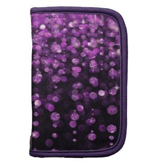 Purple Glitter Diamonds Organizer
