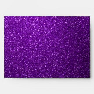 Purple Glitter Envelope