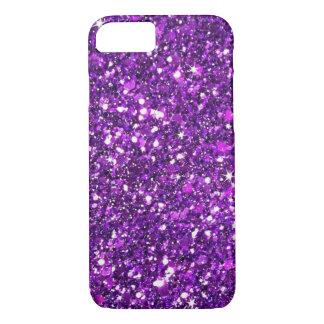 Purple Glitter iPhone 7 Case