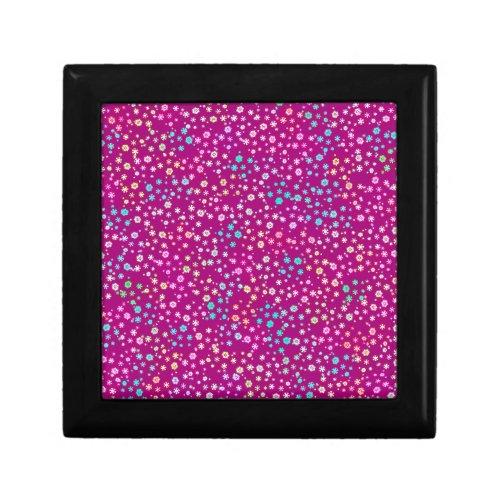 Purple Glitter Jewelry Boxes