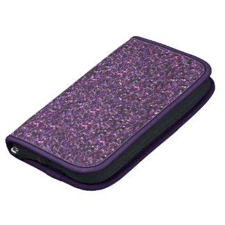 Purple Glitter Organizer