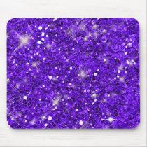 Purple Glitter Pattern ID144 Mouse Pad