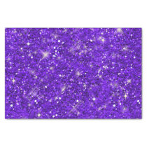 Purple Glitter Pattern ID144 Tissue Paper