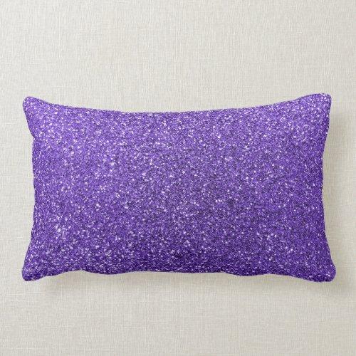 Purple glitter pillows