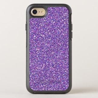 Purple Glitter Sparkle Girly Trendy Modern Pattern OtterBox Symmetry iPhone 7 Case