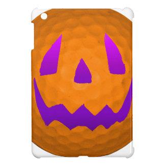 Purple Glow Halloween Golf Ball iPad Mini Cases