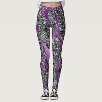 Purple Glow Leggings