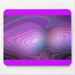 Purple Glow Mouse Pad