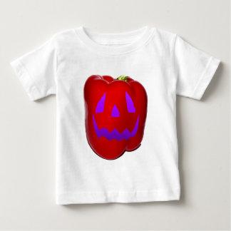 Purple Glow Red Bell Peppolantern Baby T-Shirt