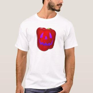 Purple Glow Red Bell Peppolantern T-Shirt