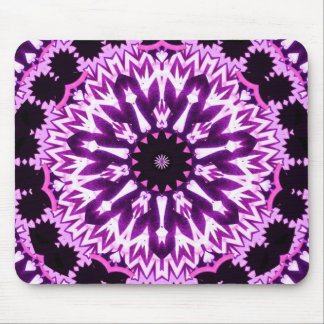 Purple Glowsticks Mouse Pad