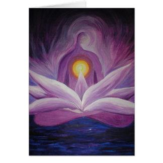Purple Goddess Card