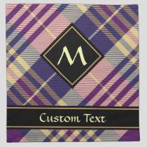 Purple, Gold and Blue Tartan Cloth Napkin