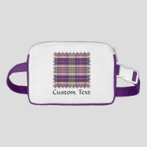 Purple, Gold and Blue Tartan Fanny Pack