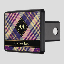 Purple, Gold and Blue Tartan Hitch Cover