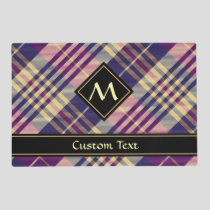 Purple, Gold and Blue Tartan Placemat