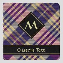 Purple, Gold and Blue Tartan Trivet