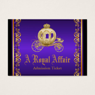 Purple Gold Royal Affair Prom Admission Tickets