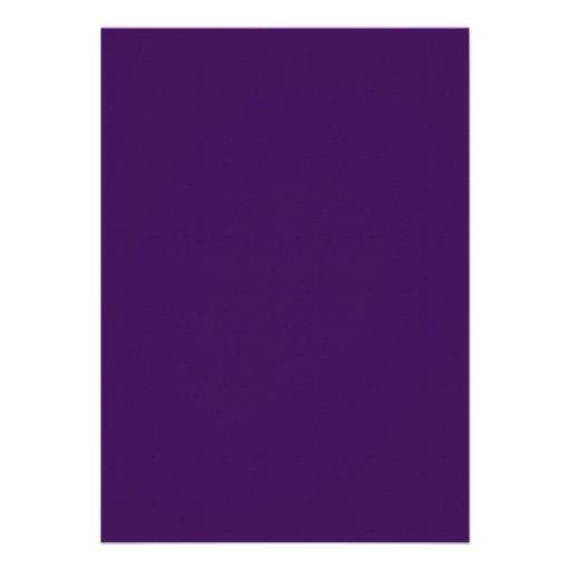 Purple Gold Swirl Graduation Party Announcement (back side)