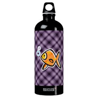 Purple Goldfish SIGG Traveler 1.0L Water Bottle